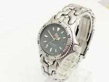 Mens Mid Size Tag Heuer Sel Grey Dial 200 Meters Wristwatch 11968