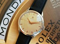 OMEGA JUMBO 2608-2 Cal 283 OVERSIZE DIAL HONEY COMB BIG SIZE top condition !!!!!