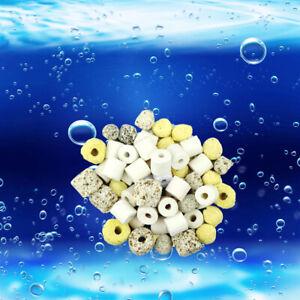 New Aquarium Bio Balls Fish Tank Bio Filter Media Biological Filtration 14oz US
