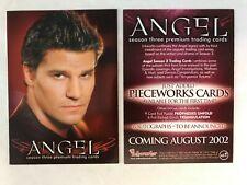CHEAP PROMO CARD: Angel Season 3 Inkworks 2002 #A3-i ONE SHIP FEE PER ORDER