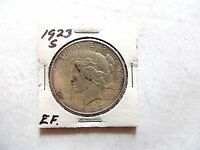 1923-S United States Peace Silver Dollar