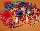 Marti Gras Beads Variety Assortment Dress-Up Jewelry