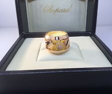 CHOPARD AMORE HEARTS ROSE GOLD RING 82/7219-5106 BRAND NEW $5,120 RETAIL!!!