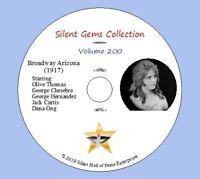 "DVD ""Broadway Arizona"" (1917) starring Olive Thomas, Classic Silent Comedy-Drama"