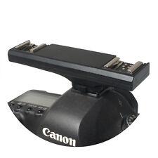 Wansen TTL Dual Hot Shoe Flash Speedlit Bracket Splitter for Canon DSLR Camera