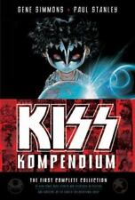 Kiss Kompendium by Paul Stanley and Gene Simmons (2009, Hardcover)