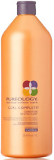 PUREOLOGY SERIOUS COLOUR CARE CURL COMPLETE CONDITIONER 33.8 OZ LITER CURLY HAIR
