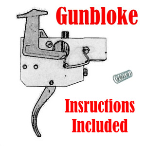 Tikka T3/T3X Rifle Trigger Spring upgrade kit - .8lb-2lb Made by GUNBLOKE