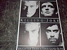 KILLING JOKE   PLAKAT   85x61cm  1115