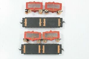 HO Two Life-Like 40ft Circus Flat Cars w/ Lion & Tiger Cages