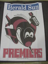 ESSENDON BOMBERS 2000 OFFICIAL AFL PREMIERS POSTER WEG ORIGINAL