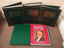 THE GREAT WRITERS - COMPLETE 52 MAGAZINE PARTWORK IN BINDERS + 3 SPECIAL ISSUES