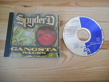 CD Hiphop Spyder D - Gangsta Wages (10 Song) ZYX C GALAXIS