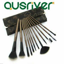12pcs Makeup Cosmetic Brushes Set Powder Foundation Eyeshadow Lip Brush Tool
