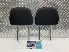 10-16 JEEP COMPASS PATRIOT 09-12 CALIBER FRONT SEAT ACTIVE HEADRESTS BLACK CLOTH