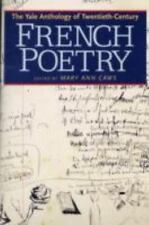 The Yale Anthology of Twentieth-Century French Poetry-ExLibrary