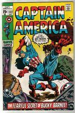 Captain America #132 Marvel Comics 1970 Marie Severin Cover Stan Lee Bronze Age