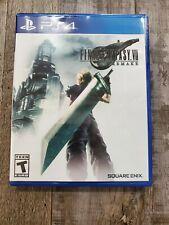 Final Fantasy Vii 7 Remake Standard Edition Playstation 4 New 2020