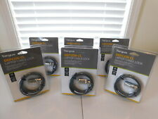 Lot of 6 Targus Defcon Cl Laptop Cable Lock Pa410U - New In Packages