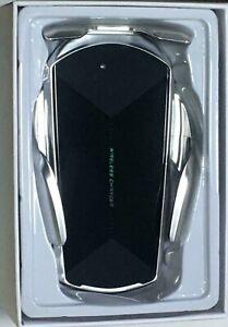 10W Qi Fast Charging Smart Sensor Wireless Car Phone Holder