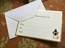 Fenella Smith Of London Pug Boxed Invitations!!! Set Of 10!!! Brand New!