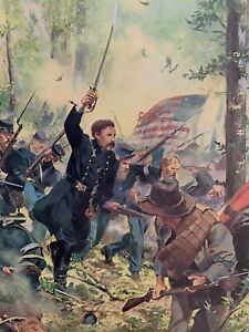"Don Troiani ""Bayonet!"" Gettysburg - Col. Joshua Chamberlain 20th Maine"