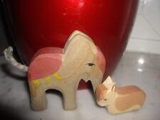 Ostheimer Mini Figuren Königstier Elefant Kuh liegend Krippefiguren Krippe Tiere