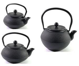 Buckingham Japanese Cast Iron Teapot Kettle Tea Pot Tetsubin Hobnail Premium