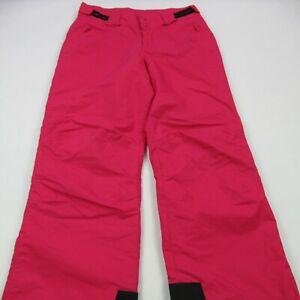 Columbia Women's Size 18/20 Ski Pants Hot Pink Warm Outdoor Water Resistant