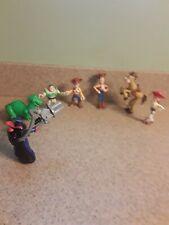 Disney Pixar Toy Story Cake Topper Figurine Zurg Woody Jessie Rex Some Imaginext