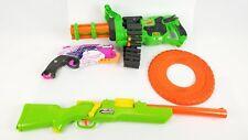 (Lot of 4) Adventure Force Dart Gun Nerf Rebelle Dog Adventure Force Machine Gun
