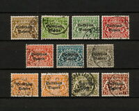 (YYAU 783) Bayern 1919 USED OFFICIAL DIEN Bavaria Germany