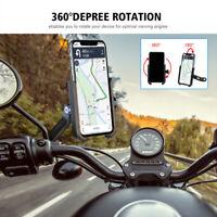 Fahrrad-Rückspiegel-Telefon drehen Stützklammer-Aluminiumlegierung für Motorrad