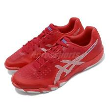 Asics Gel-Blade 6 Red Silver Men Badminton Volleyball Shoes Sneakers R703N-600