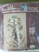 "Erica Wilson ""Shakespeare's Animals"" Embroidery Crewel Kit"