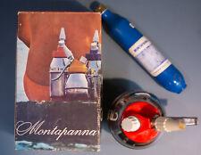 MONTAPANNA SIFONE CIMA 1960 SELZ CON BOX ORIGINALE E RICARICA VINTAGE