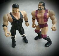 Mannix Wrestling Champions Razor Ramon Hulk Hogan Action Figure Bundle WWE WWF