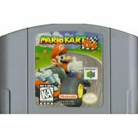 Mario Kart 64 - Nintendo N64 Game Authentic