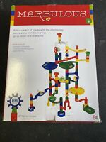 Marbulous Marble Run 100 Piece Set 20 Marbles Included Awesome Fun! Great Gift
