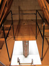 Metal Loft Surround Rail-Balustrade Black/Loft accessory/safety