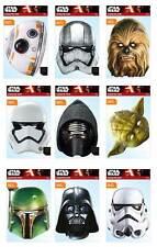 Star Wars Oficial 2D Tarjeta Caretas de Fiesta Variedad 9 Paquete