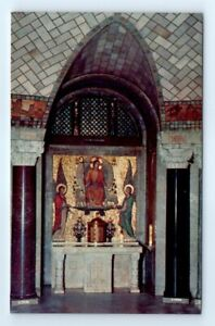 Postcard In The Catacombs Altar Blessed Sacrament L4