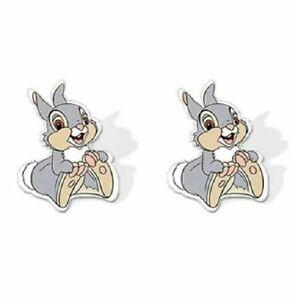 Thumper Rabbit (Bambi) Disney Classic Animation Bambi Easter Stud Earrings UK