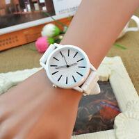 Unisex Silicone Rubber Sports Women Wrist Watch Jelly Gel Quartz Analog Watches