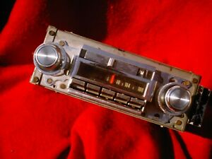 1970 ?CHEVROLET ?  NO MODEL # ON RADIO AM/FM RADIO WORKING