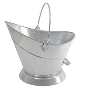 Manor Waterloo Galvanised Coal Bucket (Fireplace Fuel Storage)