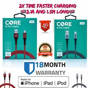NEW Boxed Genuine CORE iPhone 6 5 7 Plus Lightning Data Charger Lead Cable