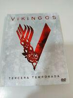 Vikingos Temporada tercera 3 completa - 3 x DVD + Digibook Español Ingles - 2T