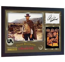 Clint Eastwood signed autograph The Good the Bad and the Ugly photo print Framed