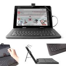 Black Stand Cover Case W/ Built-In Keyboard For Sony Xperia Z4 / Z3 / Z2 / Z
